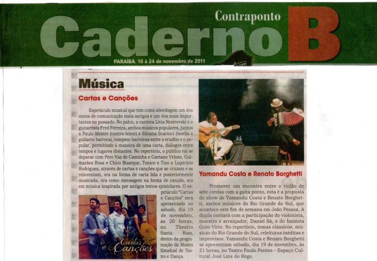 Jornal Contraponto - Paraíba