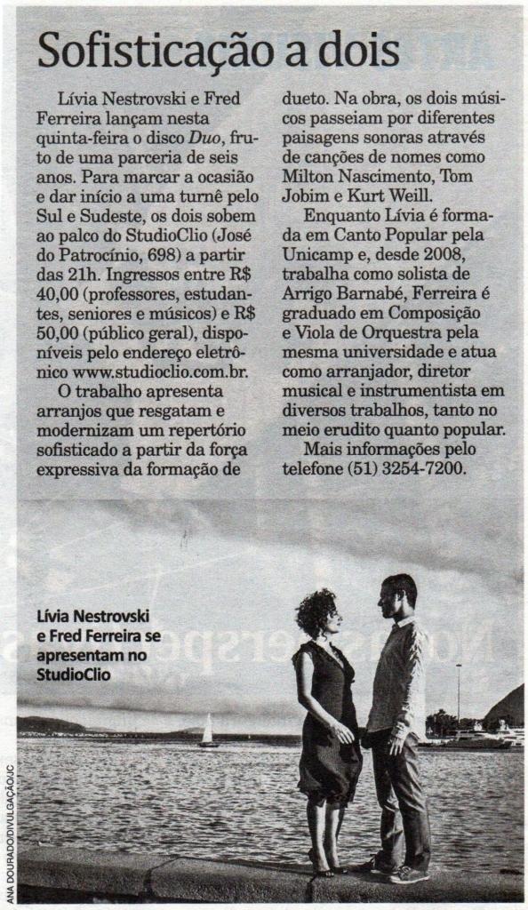 Jornal do Comércio - Porto Alegre - 25 de abril