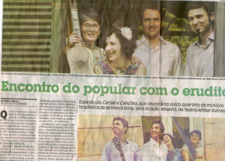 Jornal O Estado do Maranhão - Caderno Alternativo