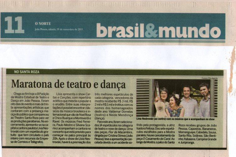 Jornal O Norte - Paraíba