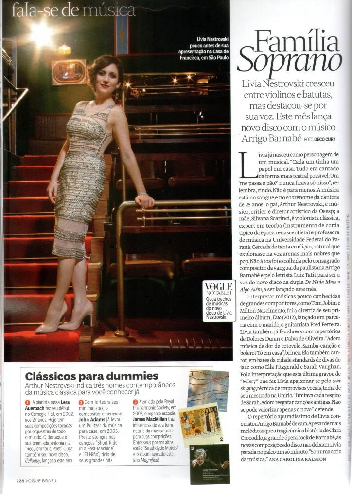Vogue Dezembro 2013